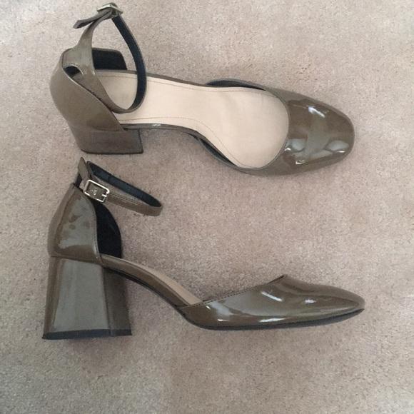 e7287cc8 Zara Shoes | Ankle Strap Patent Pumps | Poshmark